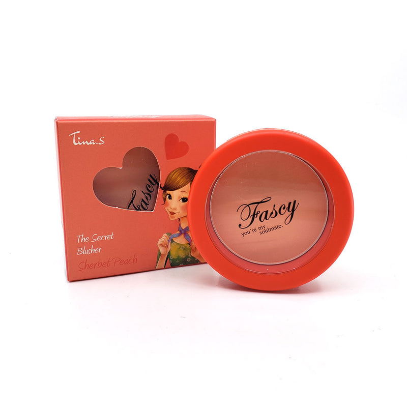 Fascy K-Beauty The Secret Blusher Powder Blush - Lovely Mood Color Blusher, 5g