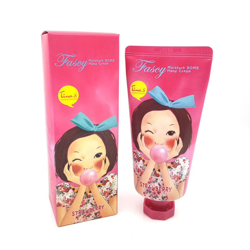FASCY Moisture Bomb Hand Cream, Moisturizing / Ultra Hydrating / Refreshing
