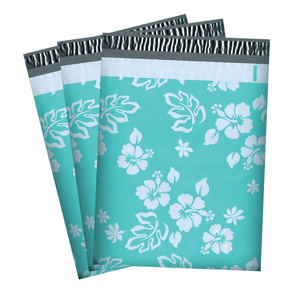 100/200/1000 CT 10 x 13 Aloha Mint Premium Designer Printed Poly Mailer Shipping Envelopes Waterproof Self Seal Adhesive Package Mail Bag