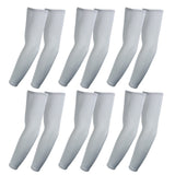 The Elixir Golf Compression Arm Sleeve (Full Length) UV Protective Anti-slip Arm Cover (Pack of 6 Pairs)