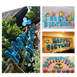 Foil Balloon HAPPY BIRTHDAY Letter Banner Party Decoration Aluminum Foil Balloons Alphabet Balloons