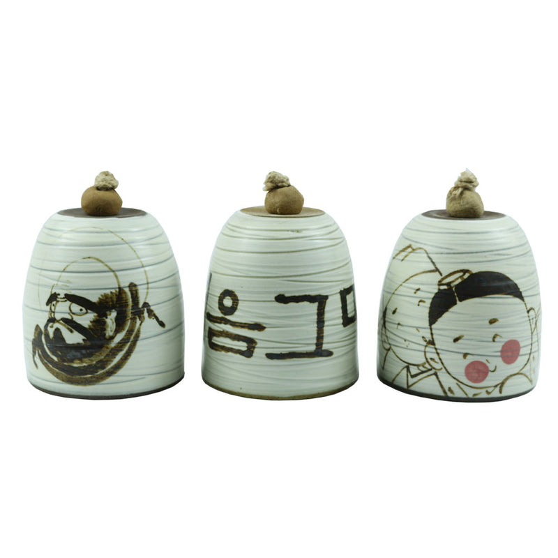 Korean Handmade Ceramic Wind Chimes Wind Bells Garden Chime
