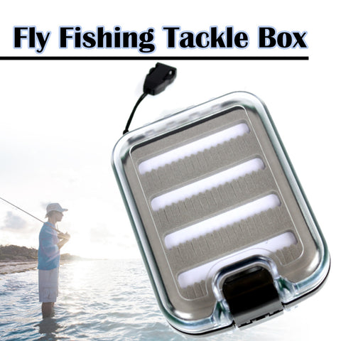 The Elixir Advenature Portable Waterprooof Multiple Compartments Fly Fishing Tackle Box Lure Lures Spoon Hook Bait Storage Box Case
