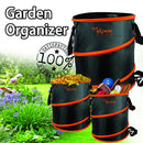 Pack of 3, The Elixir Deco Multipurpose 10 Gallon Garden Organizer Storage Foldable Bag