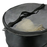 The Elixir Deco Premium Collapsible Pop-Up Dust Cover Hat Bag Organizer Stroage Travel Bag Round Hat Box