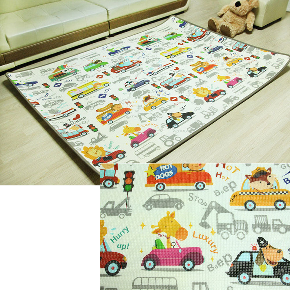 Gym Mats Non Toxic: Baby Play Mat Extra Large Foam Floor Gym Rug, Non-Toxic