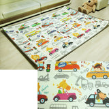 Baby Play Mat Extra Large Foam Floor Gym Rug, Non-Toxic, Non-Slip, Reversible, Waterproof