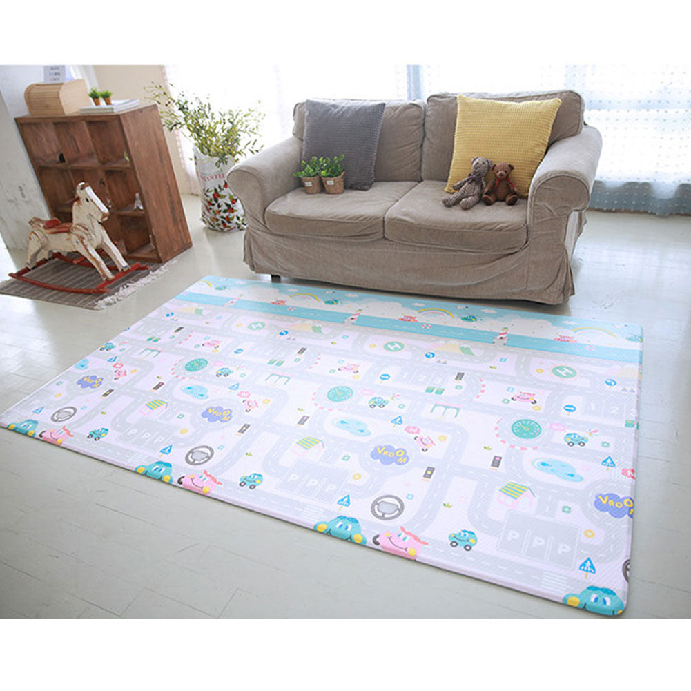 Extra Large Kids Play Mat Baby Play Mat BPA FREE Non-Toxic 82 x 55 x 0.47 in