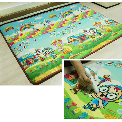 Baby Play Mat Musical Play Mat Extra Large Thick Non-Toxic Non-Slip Waterproof Floor Rug