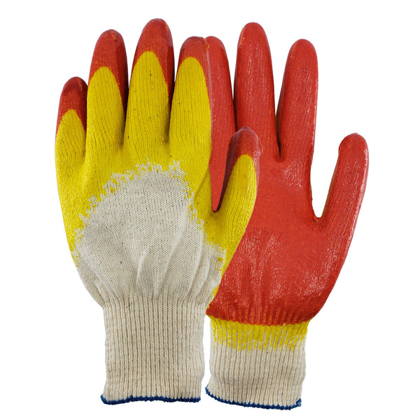 Safety Grip Protection Groves Nitrile Palm and Full Finger Coated Work Gloves