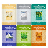 Pack of 29, The Elixir Beauty Concentrated Collagen Essence Mask Pack Sheet for Brightening, Moisturizing and 3-Step Deep Cleansing Pore Strips