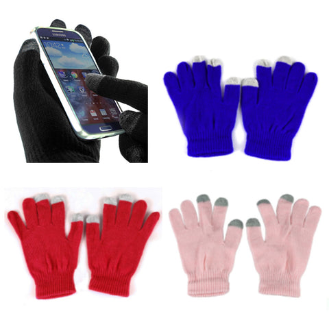 [That's a Steal!] 3 Pairs, Screen Touch Gloves Winter Gloves