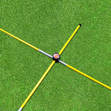 Set of 2, Golf Practice Training Aids Golf Alignment Training Stick Connector Equipment