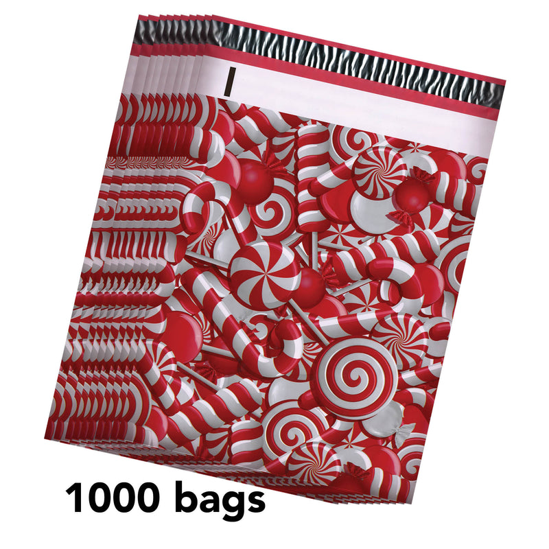 100/200/1000 CT 10 x 13 Candy Premium Designer Printed Poly Mailer Shipping Envelopes Waterproof Self Seal Adhesive Package Mail Bag