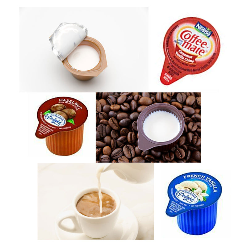 (56 Count) Curating Non Dairy Coffee Creamer, Sugar, Stir Assorted Pack Sampler