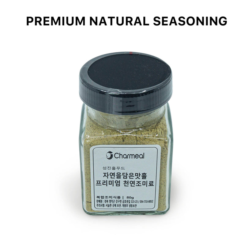 Charmeal Hyul Premium Korean Umami Flavor 100% Natural Seasoning Dashi Powder for Cooking Healthy Soups, Stocks, Stews, Fish, Vegetables (NO MSG) 80g