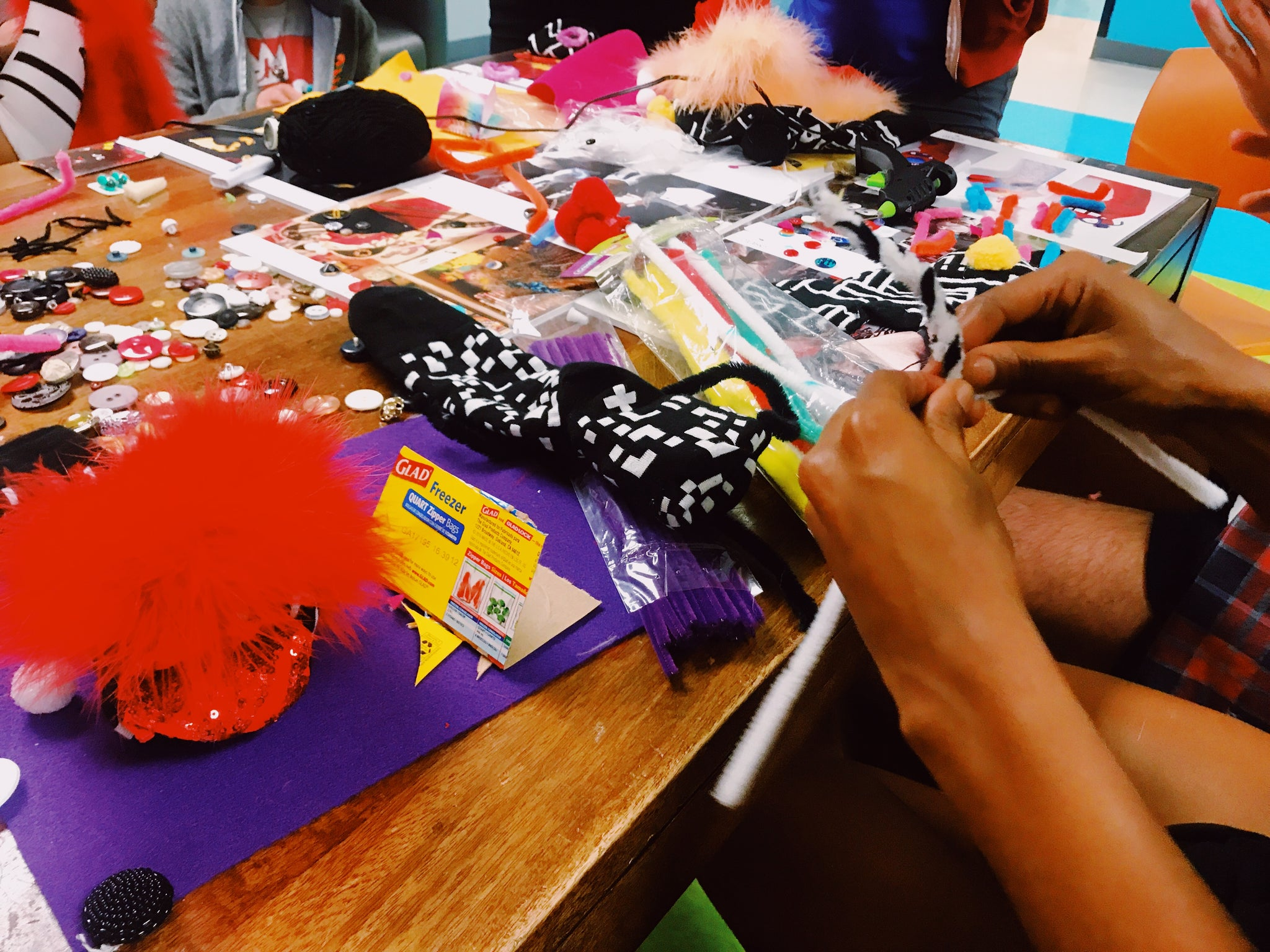 A Queer Sock Puppet Workshop at the Los Angeles LGBT Center