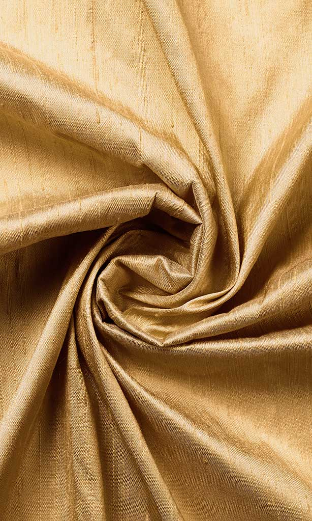 Golden Beige Pure Silk Curtains I Handstitched and Shipped for Free I Custom Window Drapes