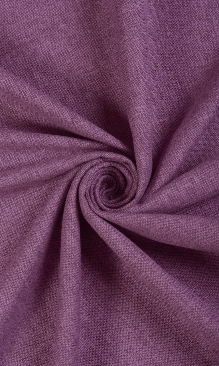 Textured Purple Window Drapes Drapery Curtains Image