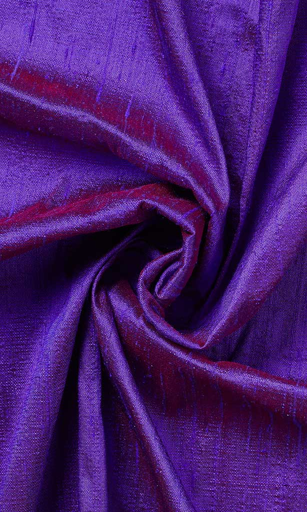 Violet/Purple Dupioni Silk Curtains I Handstitched and Shipped for Free