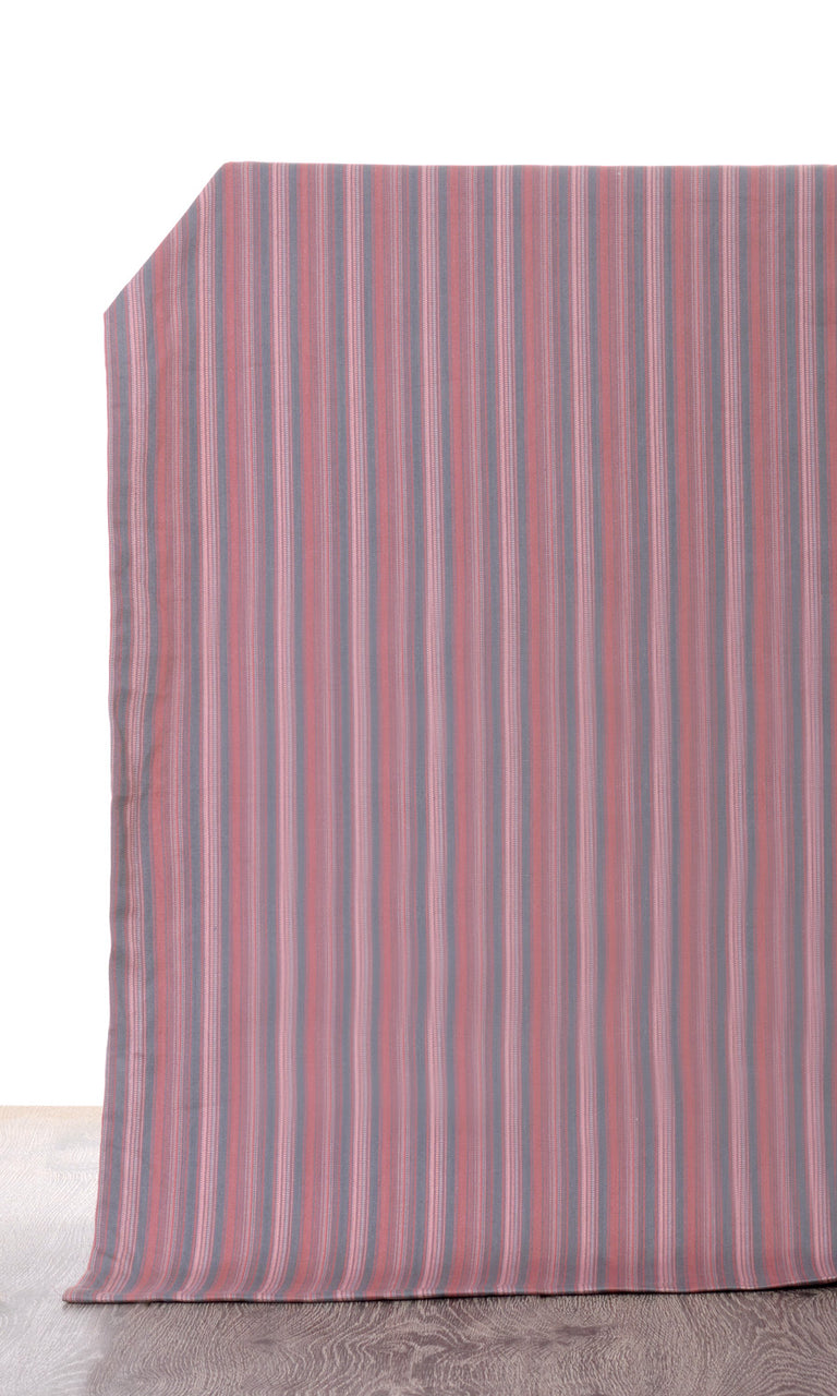 pink grey custom cotton curtains image