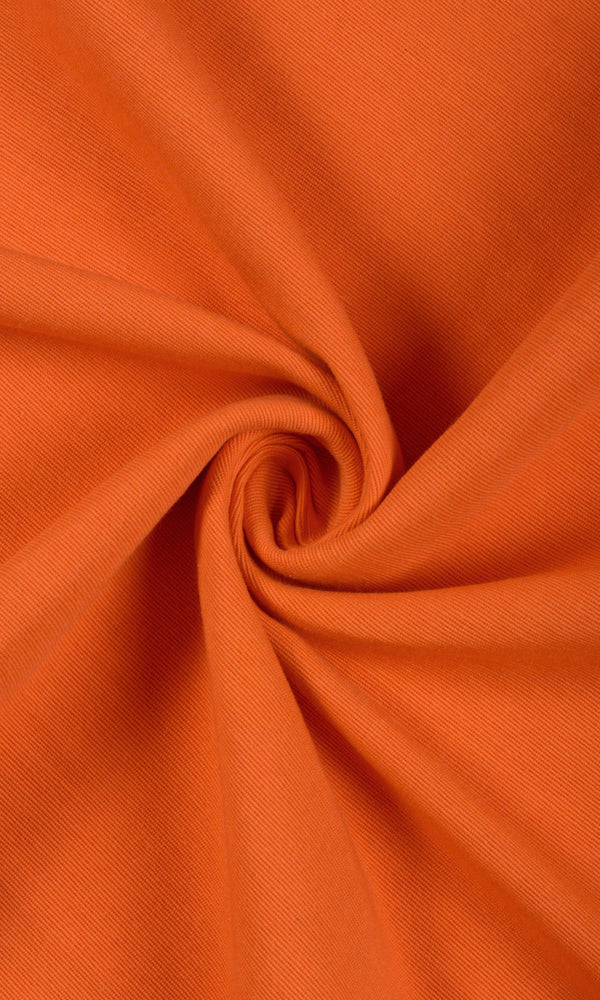 Extra Wide I orange curtains