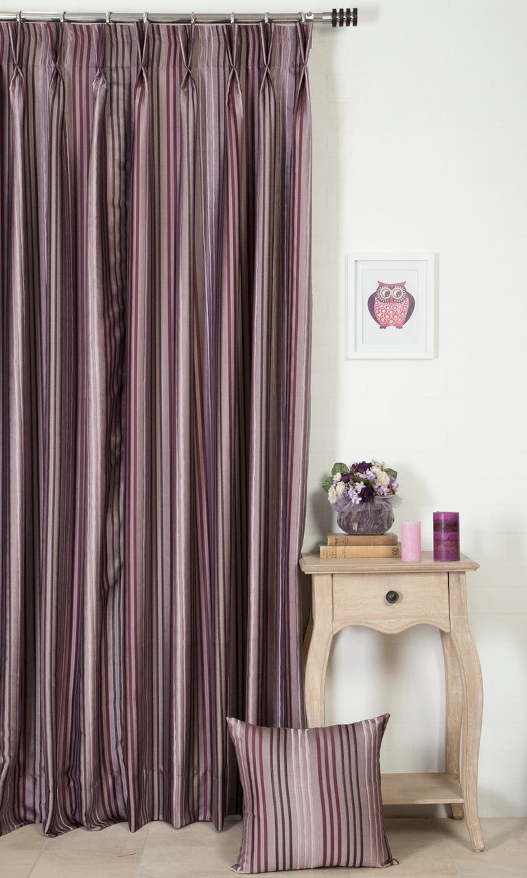 plum purple custom curtains image I Extra Long
