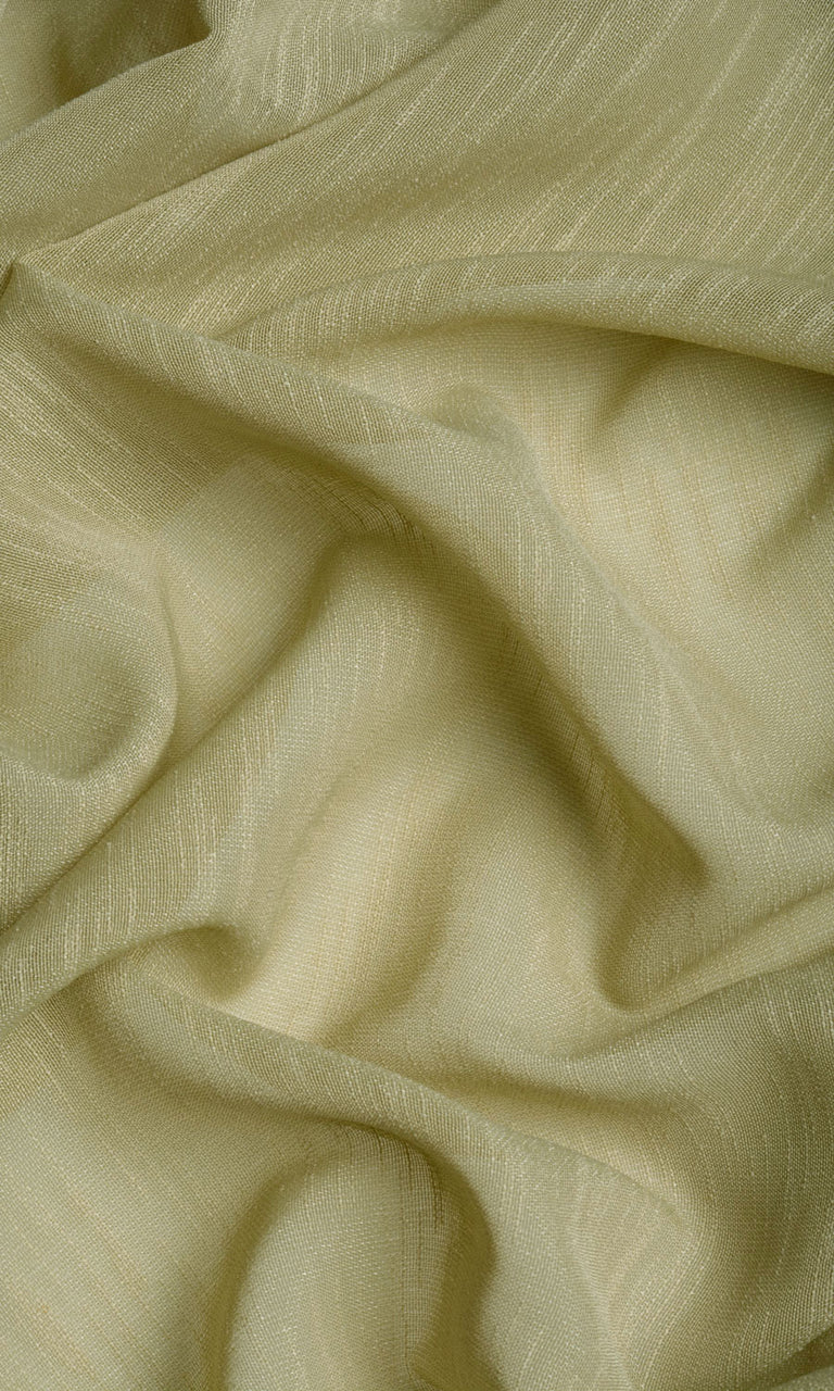 Sage green linen sheer curtains