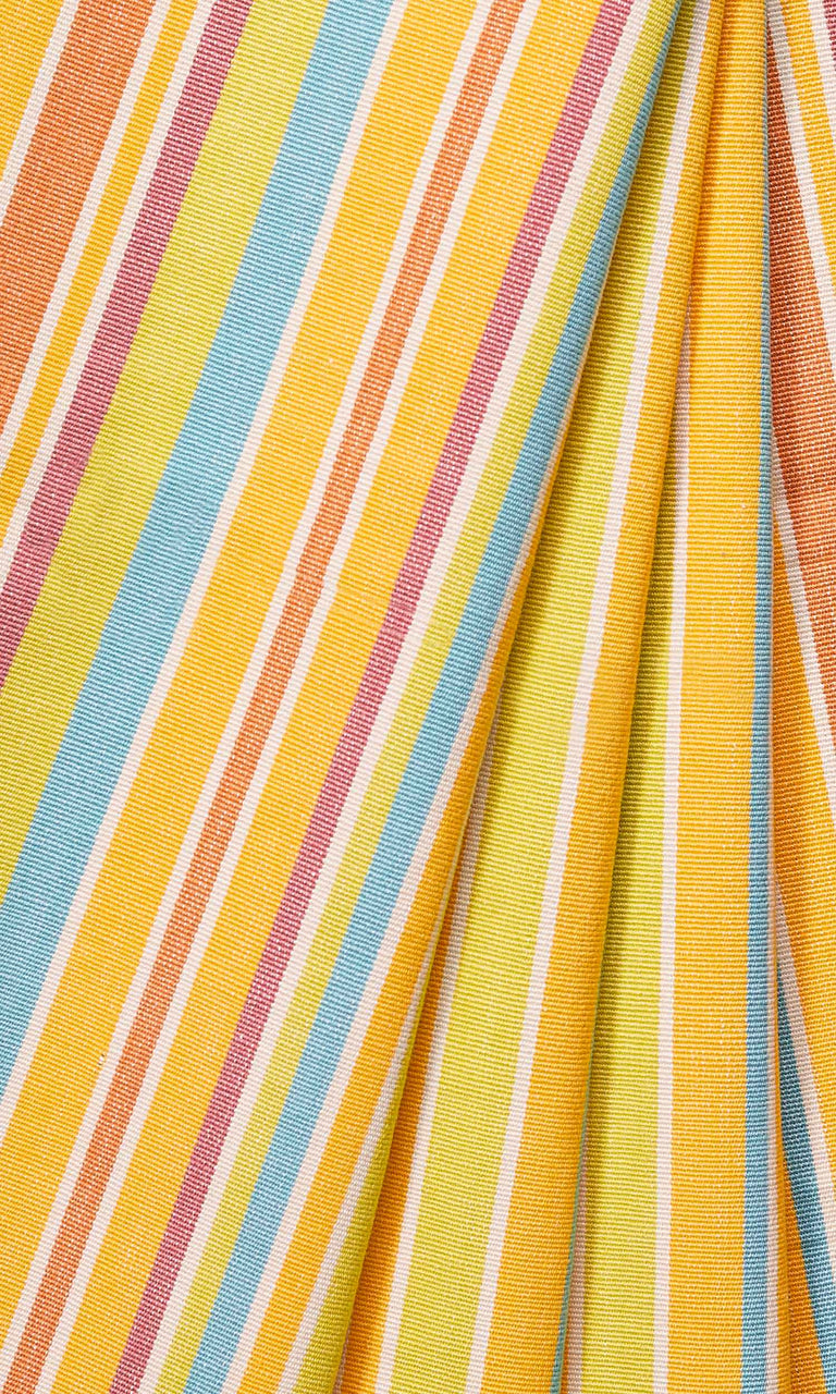 yellow custom cotton curtains image