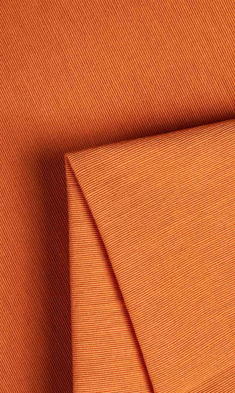 Orange custom Curtains
