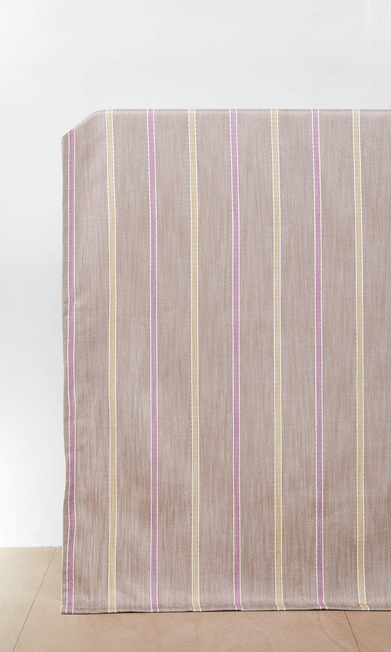 Beige / Pink custom Curtains. Narrow Curtains.
