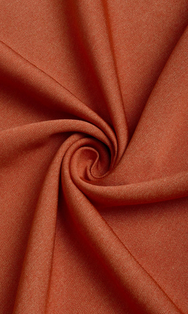 Orange Blackout Curtains Image