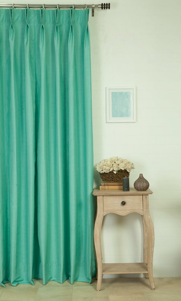 Extra Wide I blue made to measure curtains image