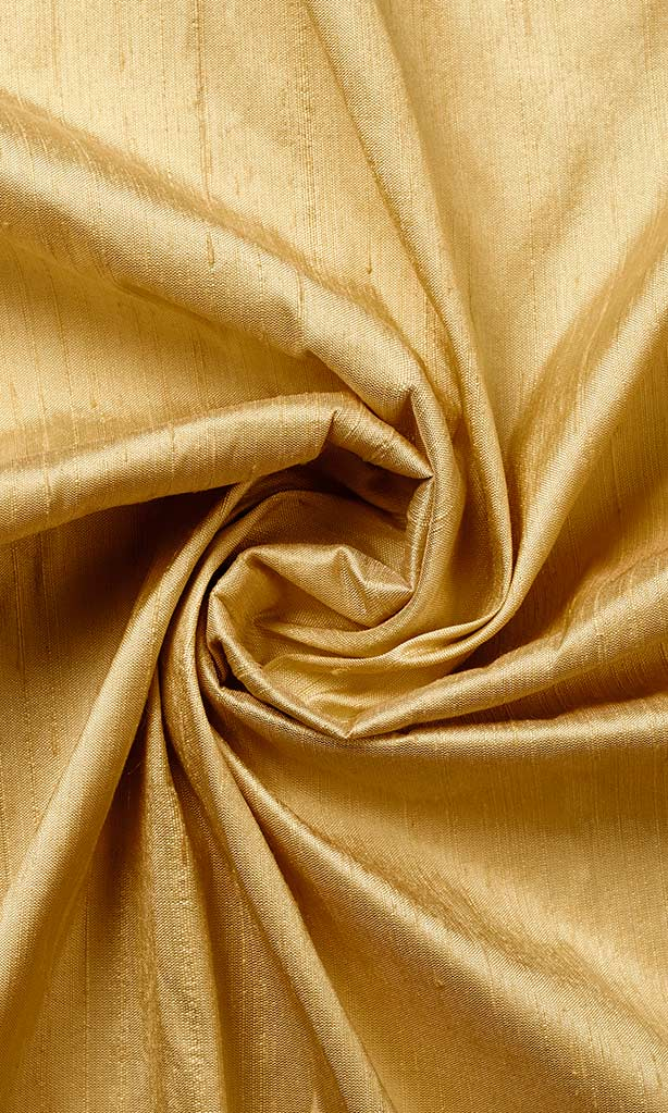 Golden Yellow Pure Silk Curtains I Handstitched and Shipped for Free I Custom Window Drapes