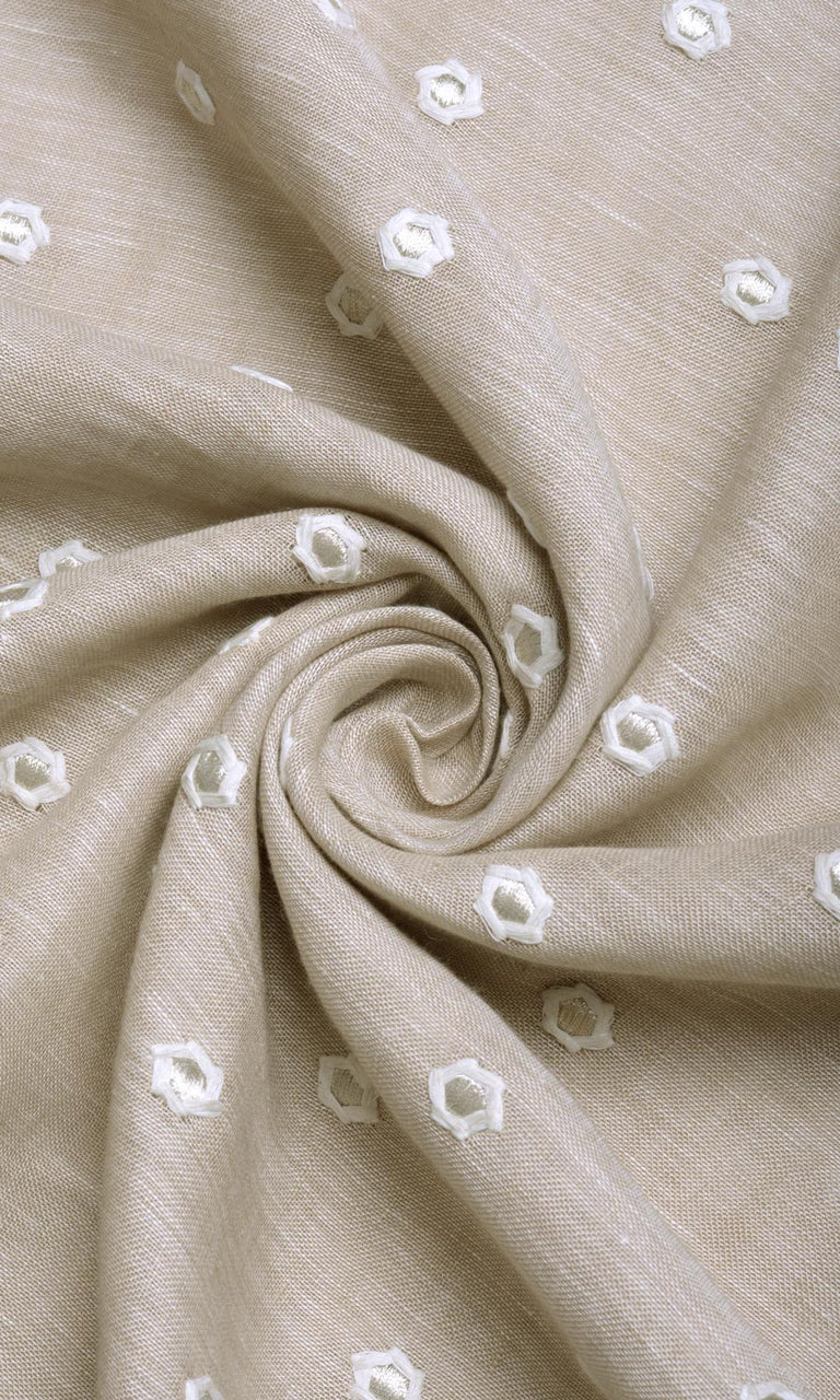 Natural Linen Curtains Image