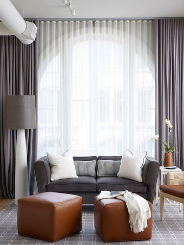6 Modern Living Room Curtain Ideas Spiffy Spools