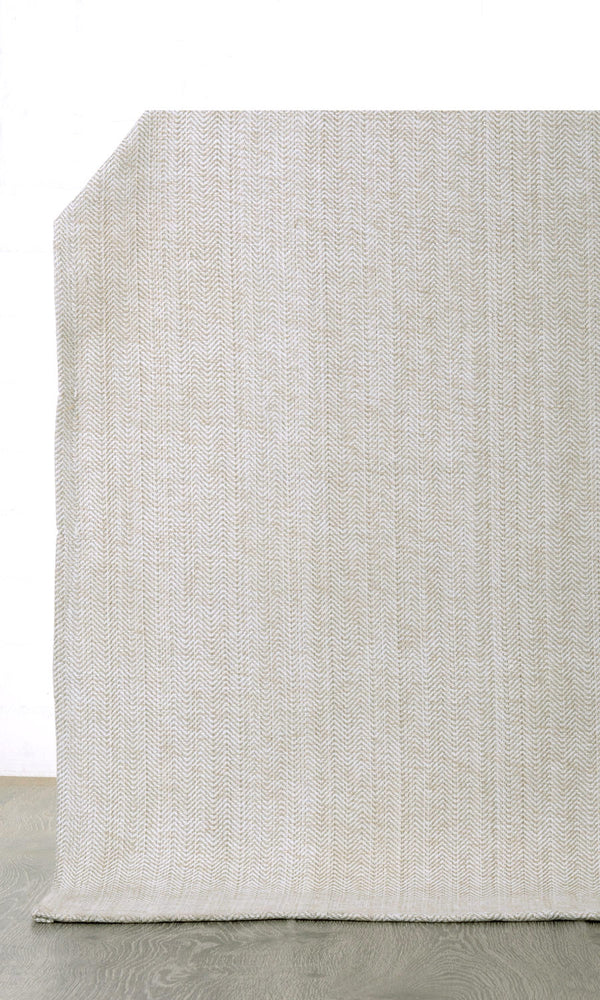 Extra Wide I cream custom cotton curtains image