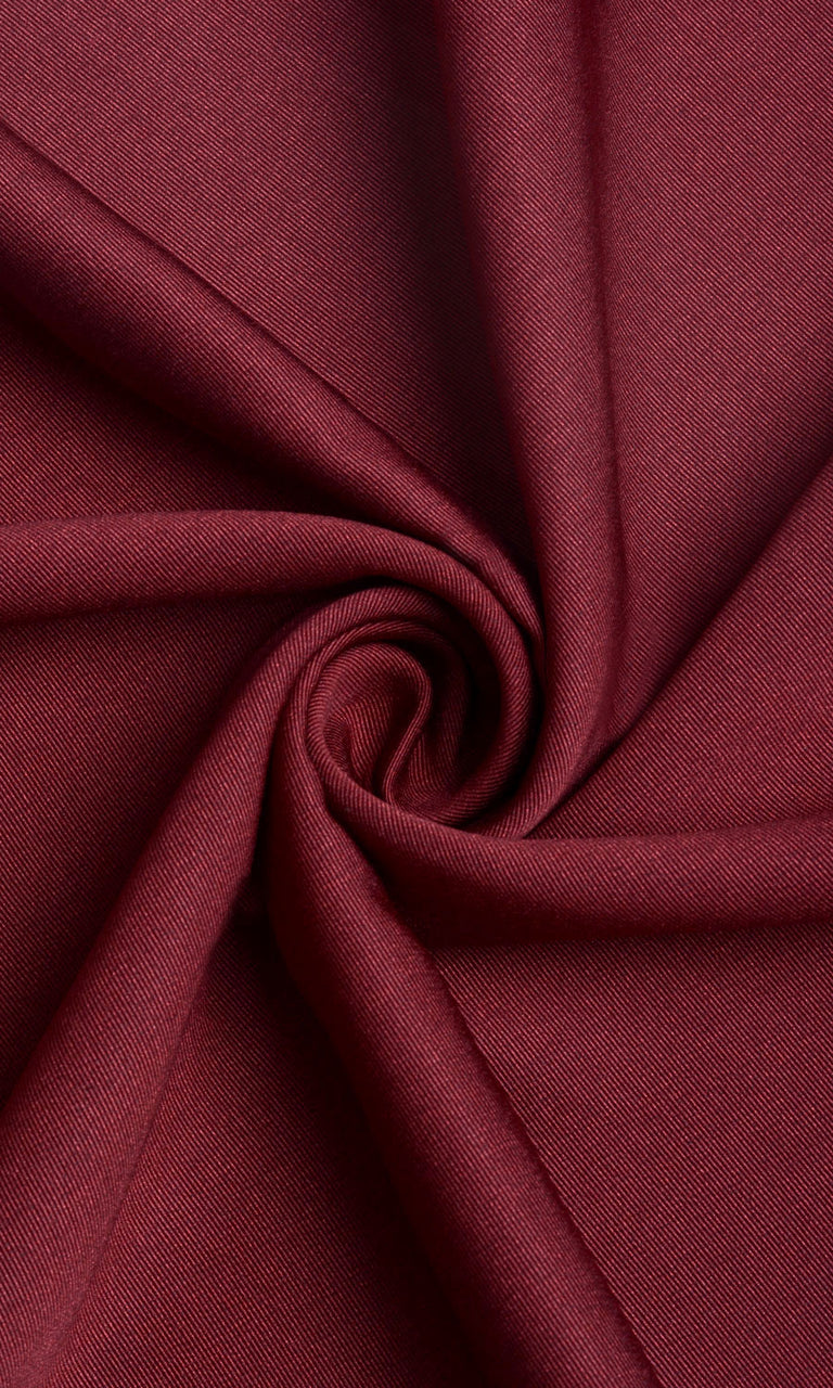 Dark Red Blackout Curtains Image