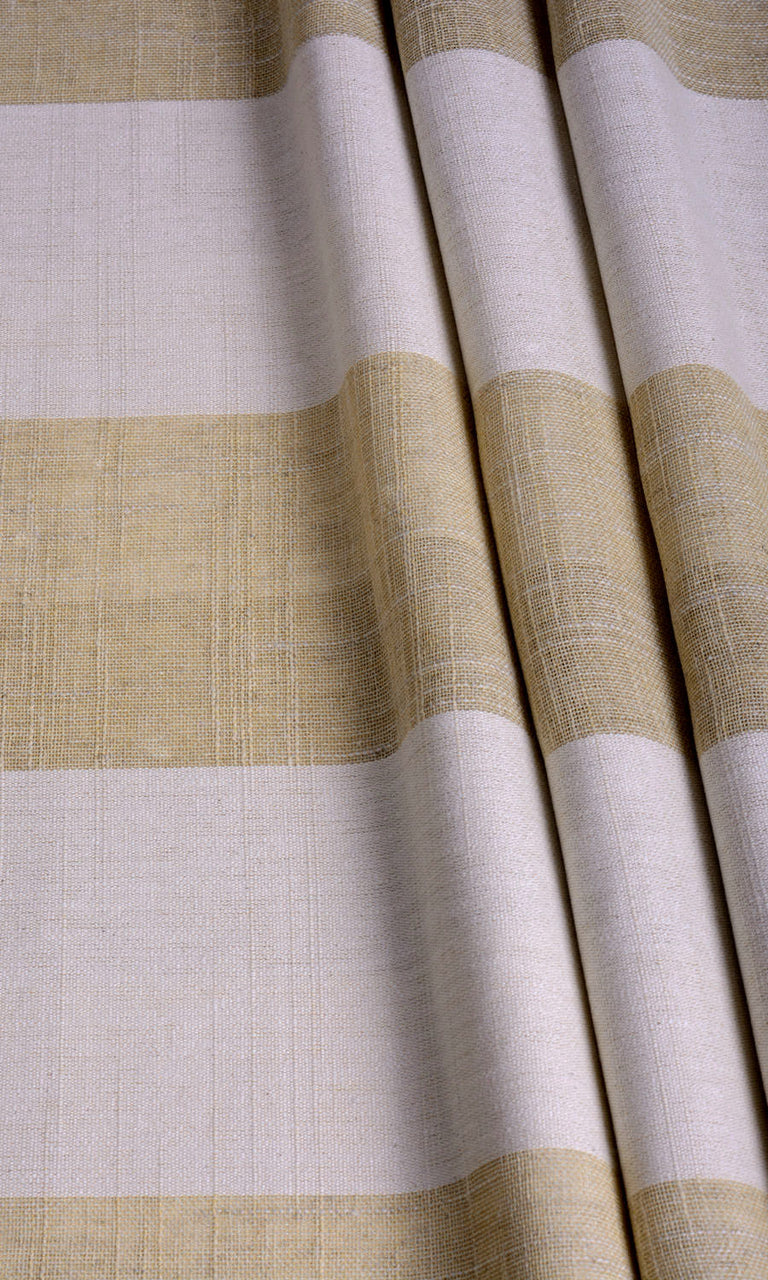 Striped linen curtains. Narrow Curtains.