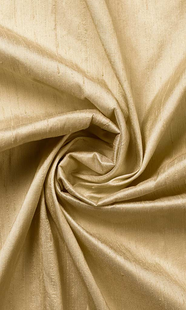 Champagne Yellow Pure Silk Curtains I Handstitched and Shipped for Free I Custom Window Drapes