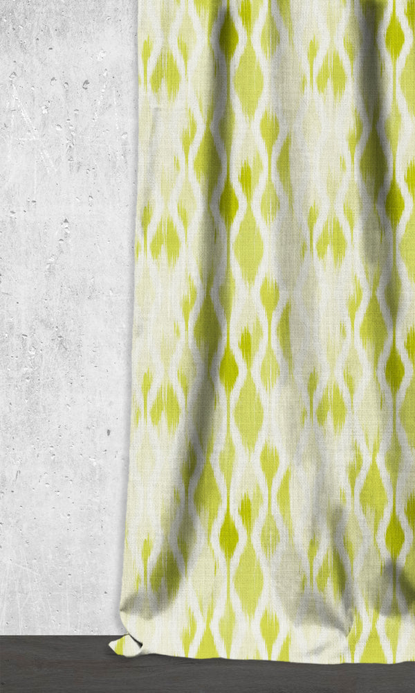 Ikat-Style Drapes and Curtains