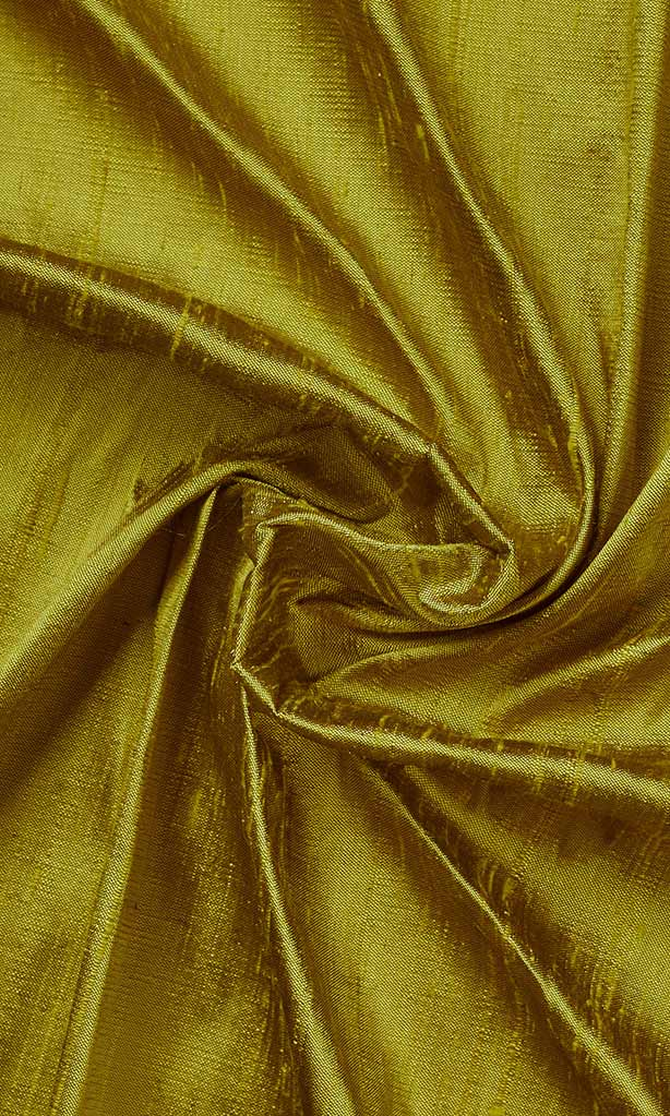 Olive Green Pure Silk Curtains I Handstitched and Shipped for Free I Custom Window Drapes