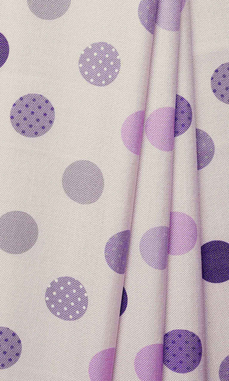 Children Room Purple Pink custom Curtains