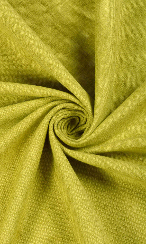 Green Textured Living Room Kitchen Drapes Drapery Curtains Image