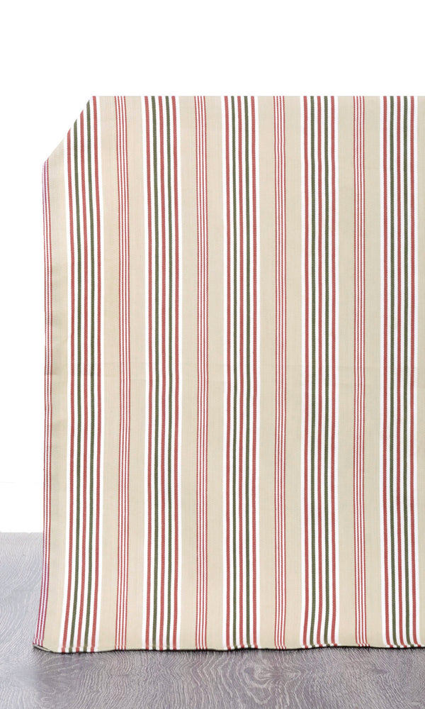 brown or beige or red custom cotton curtains image I Extra Long