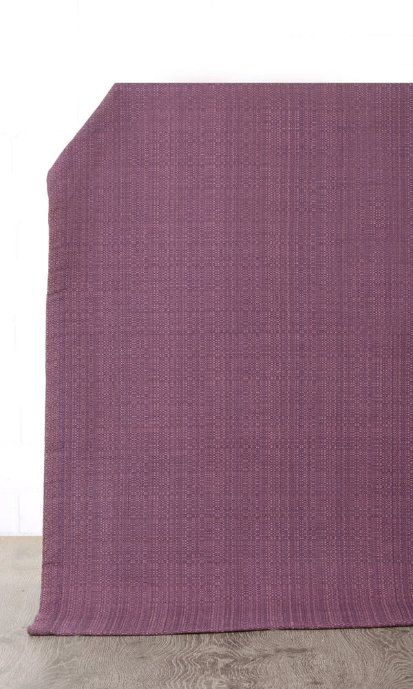 Extra Wide I purple custom cotton curtains image