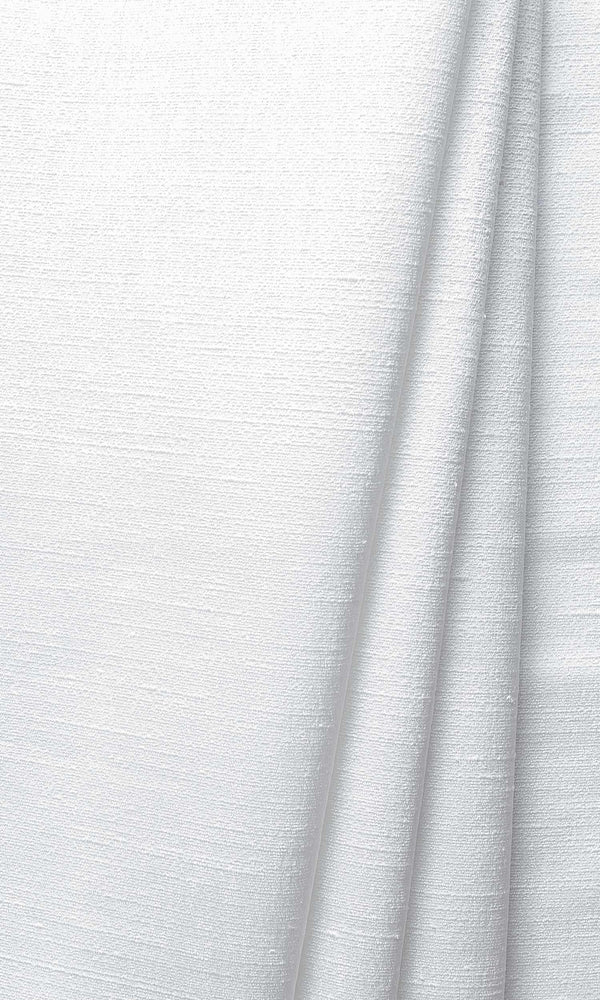 White Silk custom Curtains