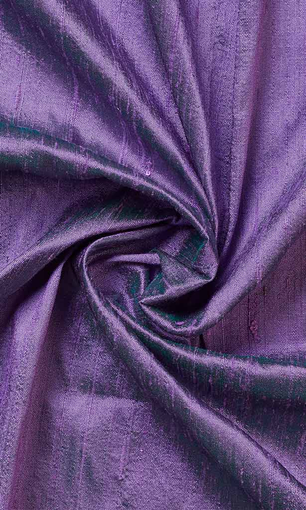 Lilac Purple Dupioni Silk Curtains I Handstitched and Shipped for Free