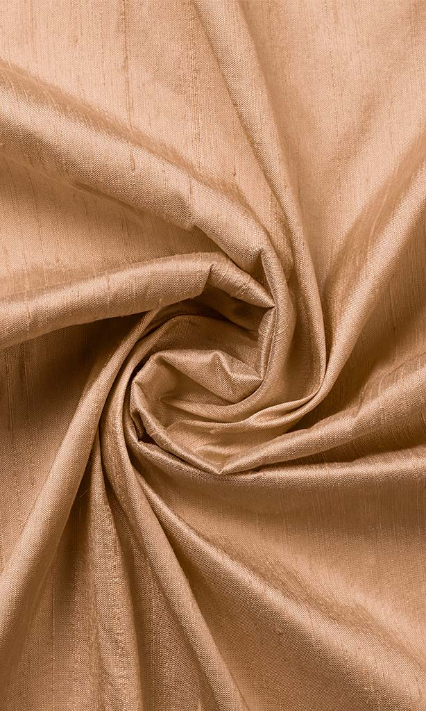 Coral Orange Pure Silk Curtains I Handstitched and Shipped for Free I Custom Window Drapes