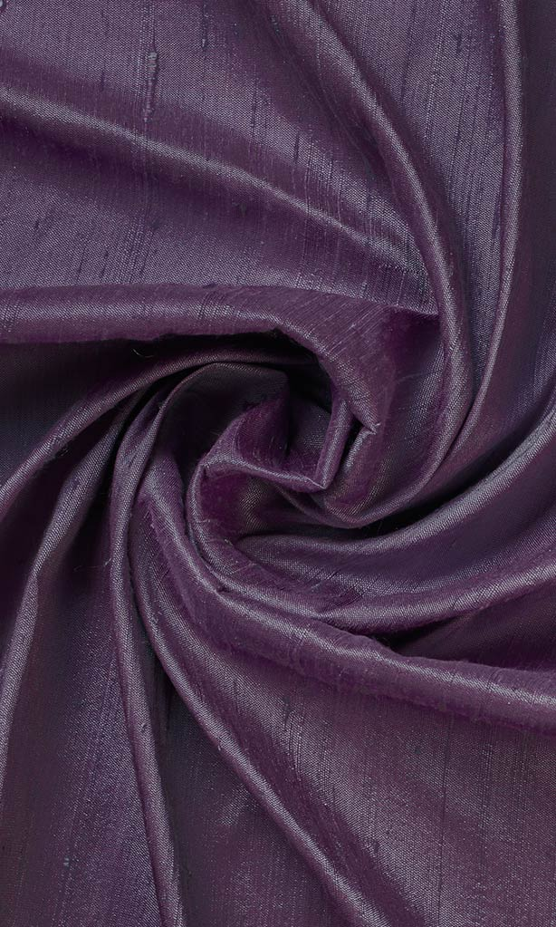 Purple Dupioni Silk Curtains I Handstitched and Shipped for Free I Extra Long